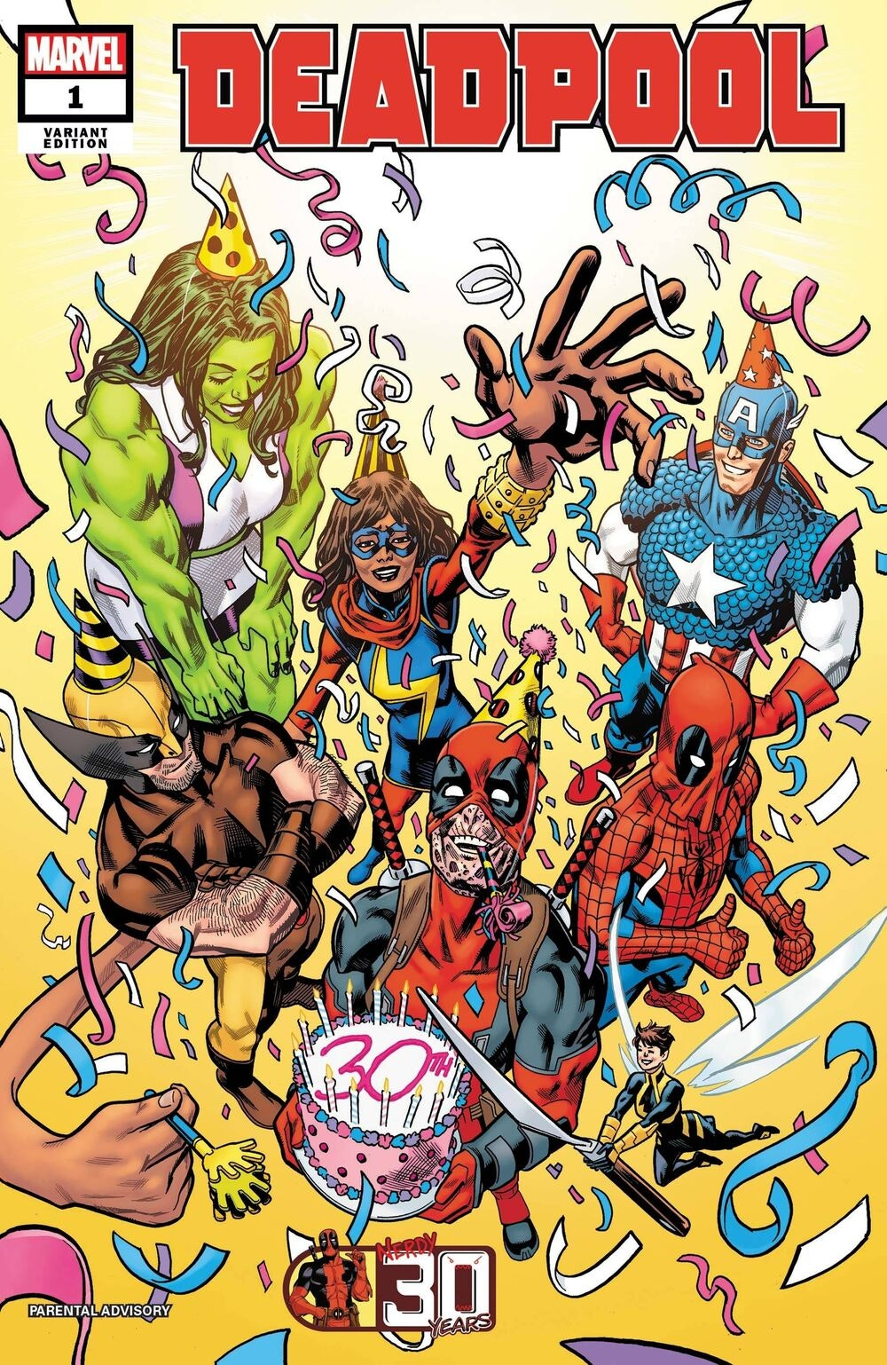 Deadpool Nerdy 30 Vol 1 1 Hawthorne Variant